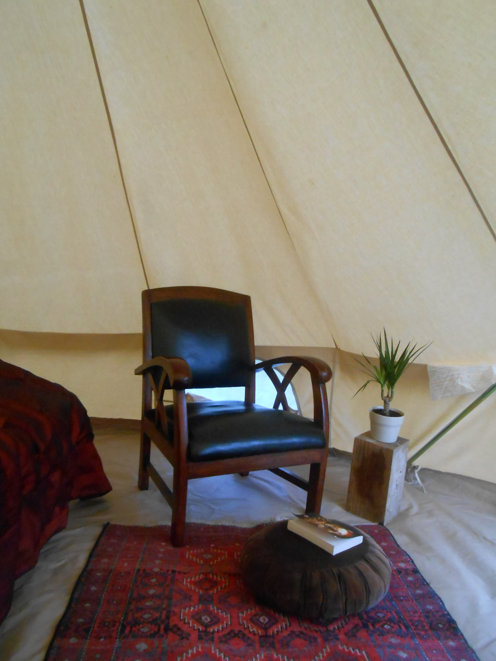 confort tente glamping